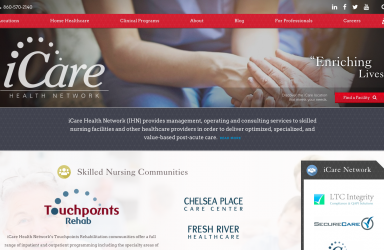iCare Health Network Website