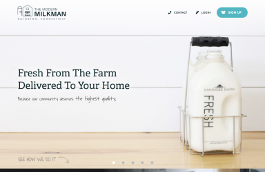 The Modern Milkman Website